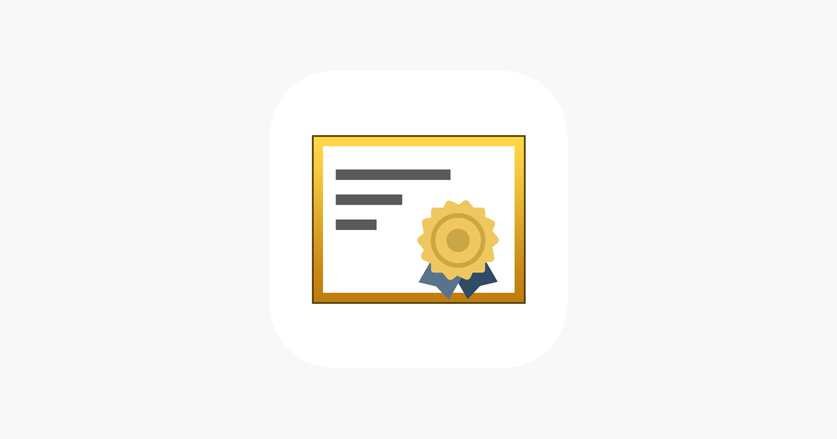 Inspect - View TLS certificate on the App Store