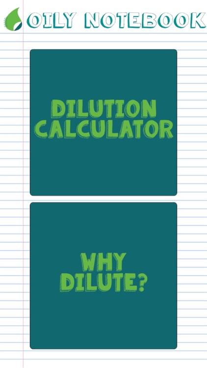 Oil Dilution Calculator