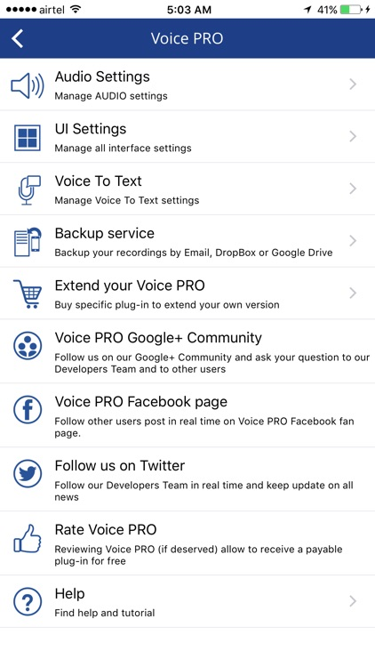 Voice PRO screenshot-4