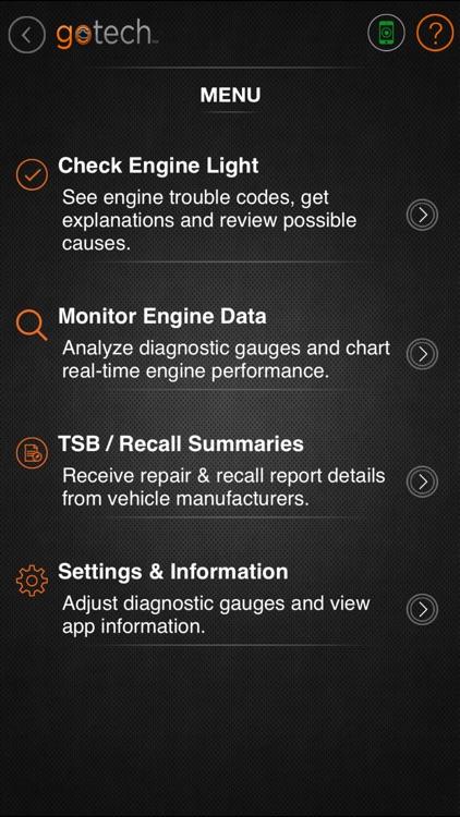 GoTech™ Mobile OBDII Diagnostics Tool