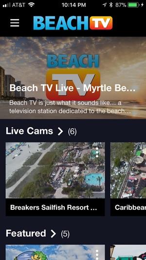 Beach TV - Myrtle Beach on the App Store