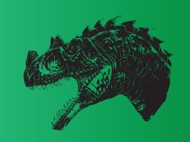 Enjoy awesome hand sketched dinosaur prints