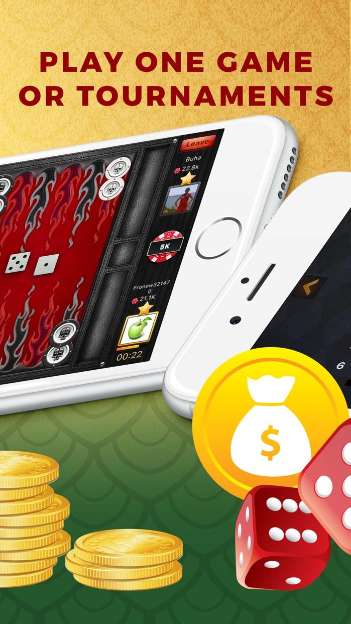 Backgammon Play Live Online Screenshot