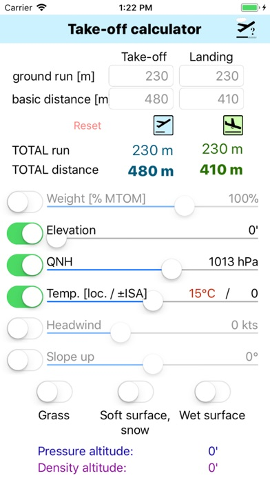 Screenshot for Take-Off Distance in France App Store