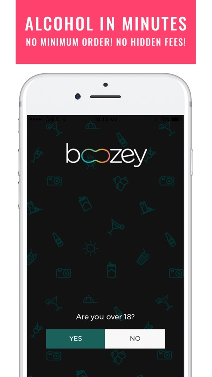 Boozey: Alcohol Delivery App