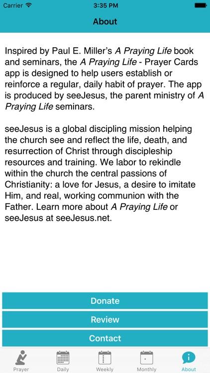 A Praying Life - Prayer Cards screenshot-8