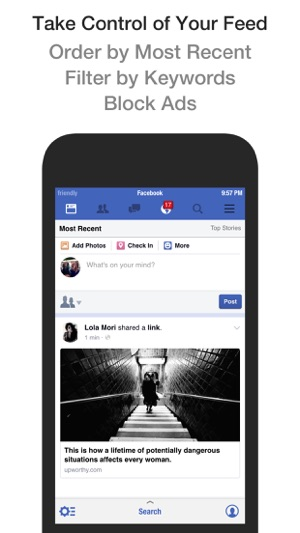 facebook app for iphone friendly plus for on the app 14061