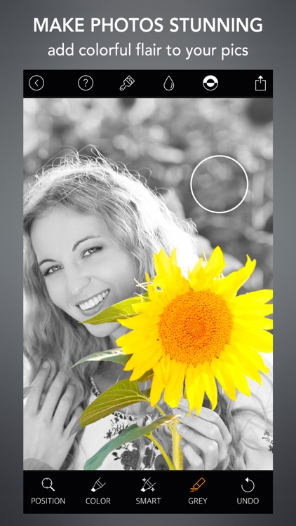 Selective Color Photo Effect
