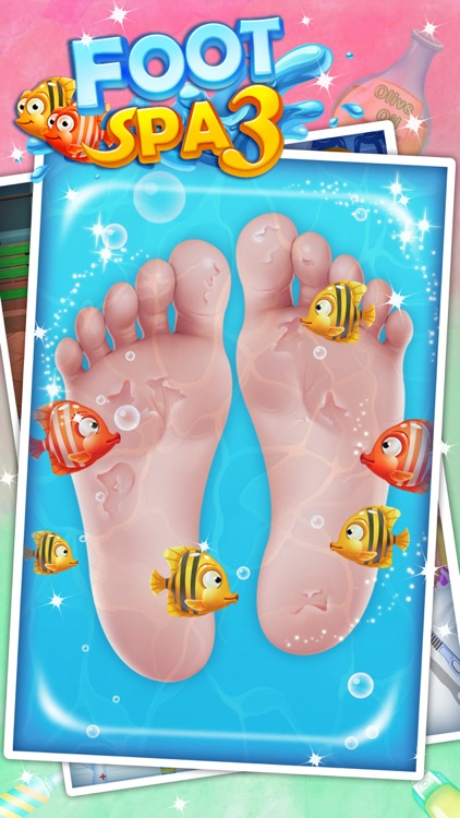 Foot Spa - Fun games