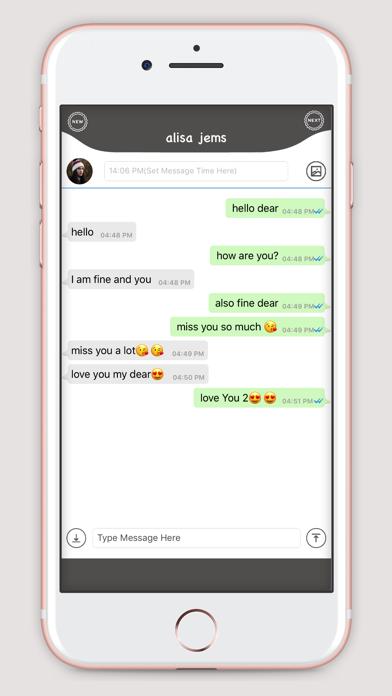 WhatsUp Prank Chat screenshot one