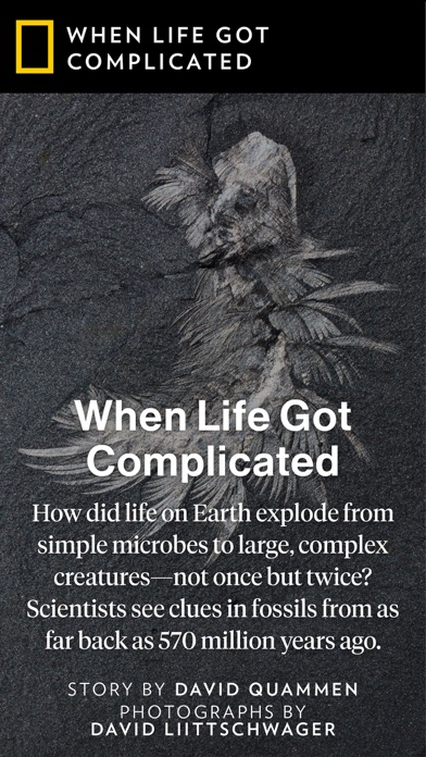 Screenshot 3 for National Geographic's iPhone app'