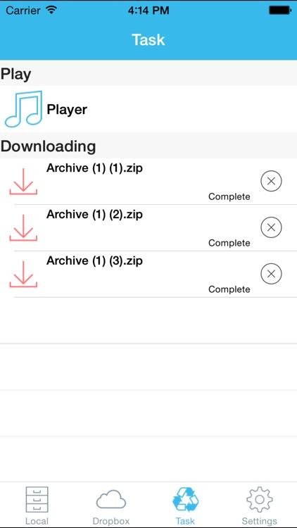 iToolZip-Zip Unzip Unrar Tool screenshot-3