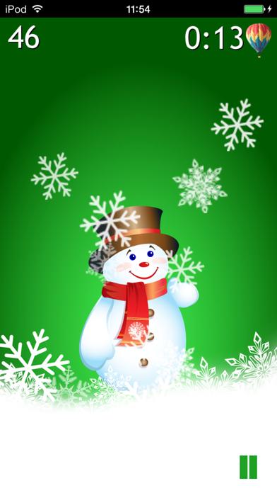 Winter Pop: Save the Snowman screenshot two
