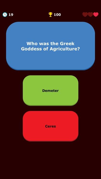 Greek Mythology Quiz - Greece screenshot-6