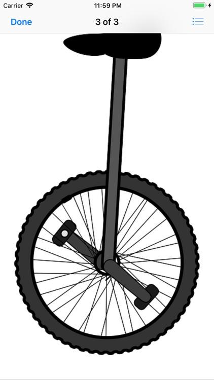 Unicycle Sticker Pack screenshot-6