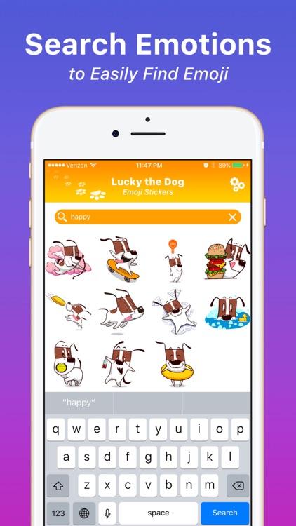 Lucky the Dog - Emoji Stickers screenshot-3