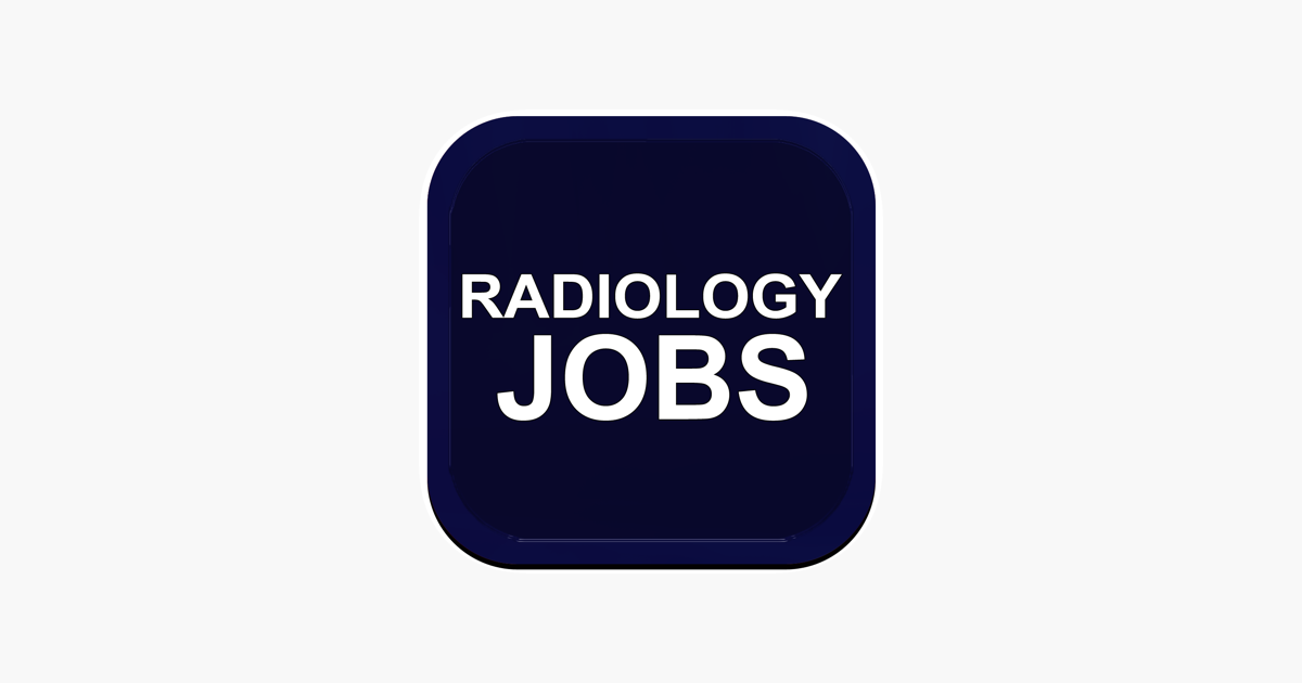 Radiology Jobs on the App Store