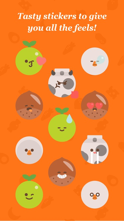 Just Food Fun Stickers