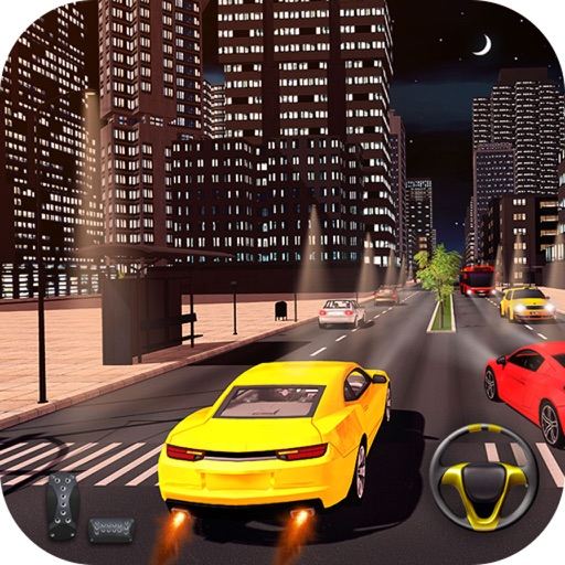 Fast Car Racing In Traffic