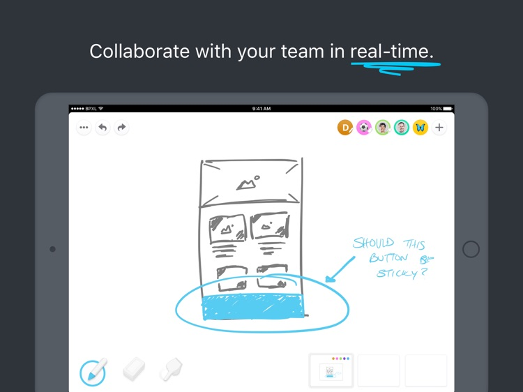 Pixelboard - Sketch Together