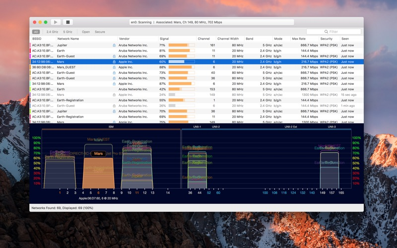 WiFi Explorer Lite for Mac