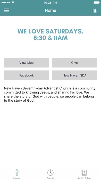 New Haven SDA screenshot 1