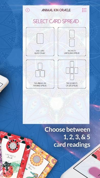 Animal Kin Oracle Cards screenshot 3