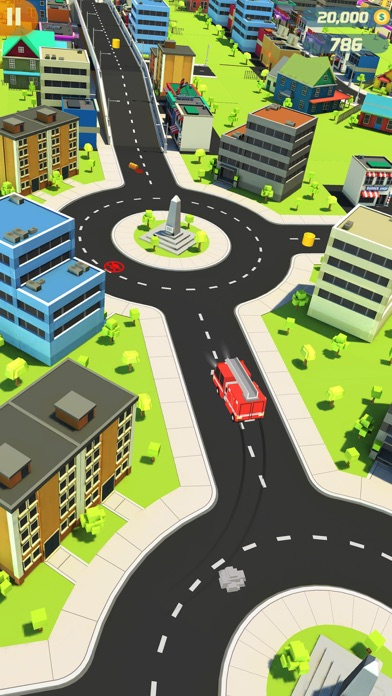 Finger Car Driver Dash screenshot three