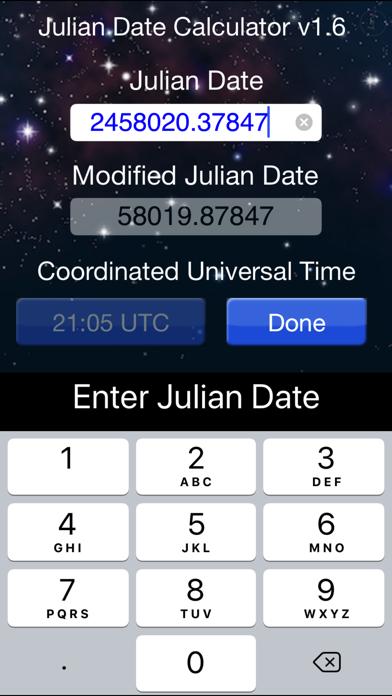 Julian Date Calculator screenshot two