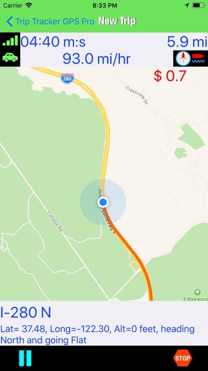 Trip Tracker GPS Professional screenshot-5
