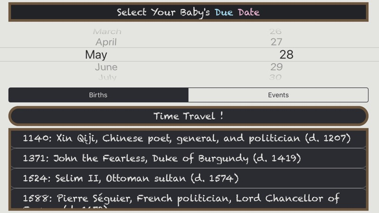 Due Dates In History screenshot-3