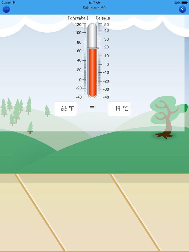Kid Weather Screenshot