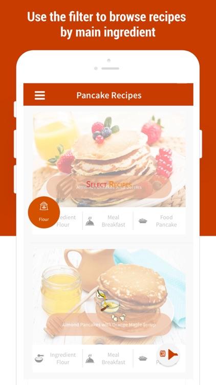 Pancakes -Easy Pancake Recipes screenshot-5