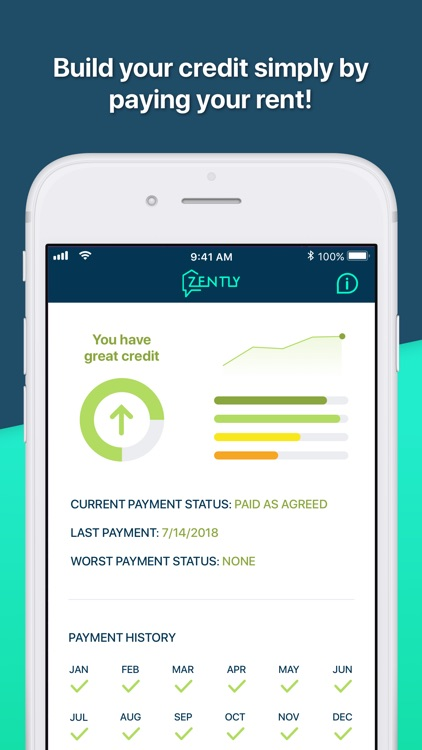 Zently: Pay rent, build credit