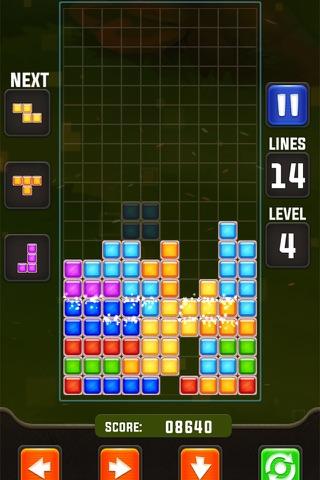 Colour Brick puzzle pop - náhled