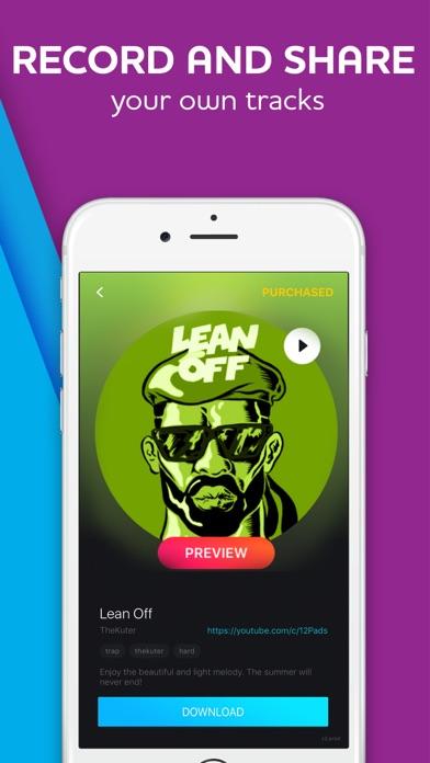 12 pads make beats music app download android apk. Black Bedroom Furniture Sets. Home Design Ideas