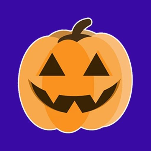Halloween Pumpkin smiley moji