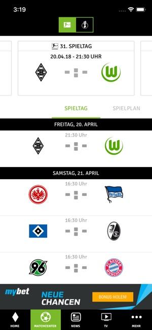 Borussia Mönchengladbach App En App Store