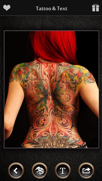 Virtual Tattoo Maker - Ink Art app image
