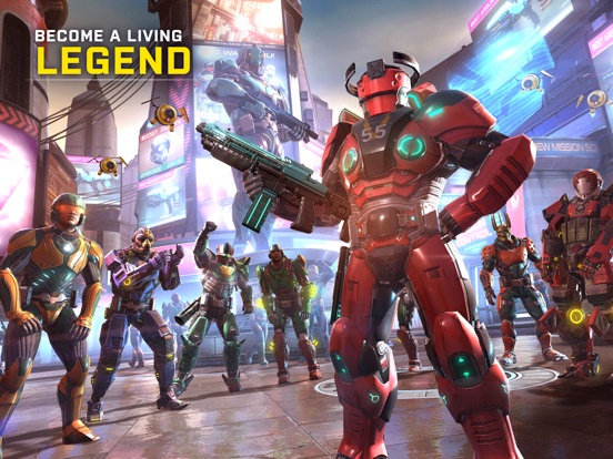 Shadowgun Legends screenshot #2