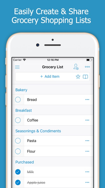 Shoppylist - Shopping List screenshot-0