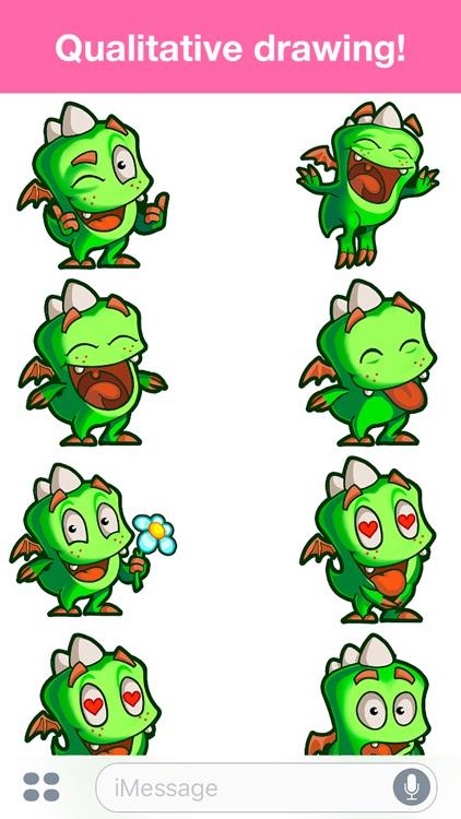 Droll Dragon - Cute stickers