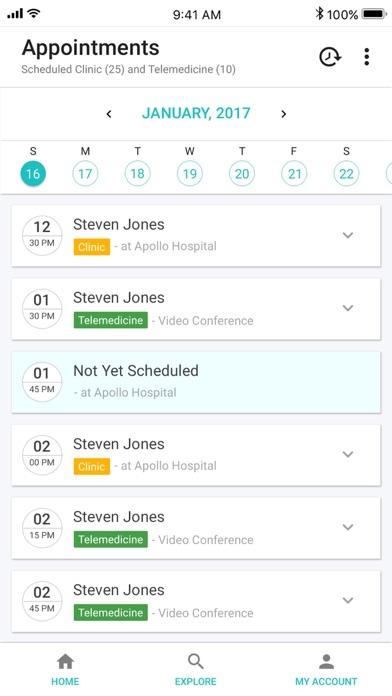 PatientMD Doctor Screenshot