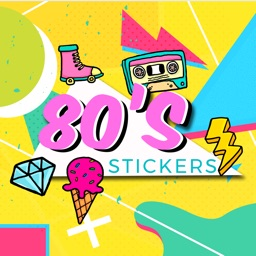 80s Stickers Retro Pack