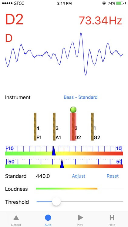 Accurate Bass Tuner