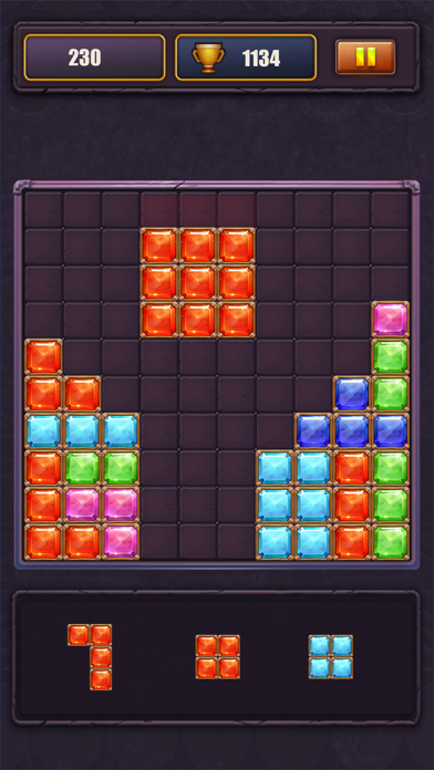Jewel Duluxe-Block Puzzle screenshot three