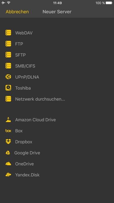 Screenshot for nPlayer Plus in Switzerland App Store