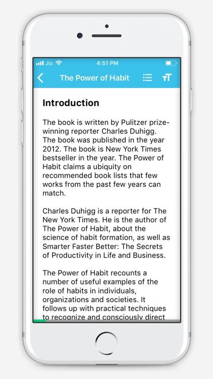 BlinkBook - Self Help Summary screenshot-6