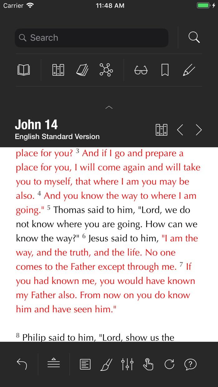 Holy Bible Screenshot