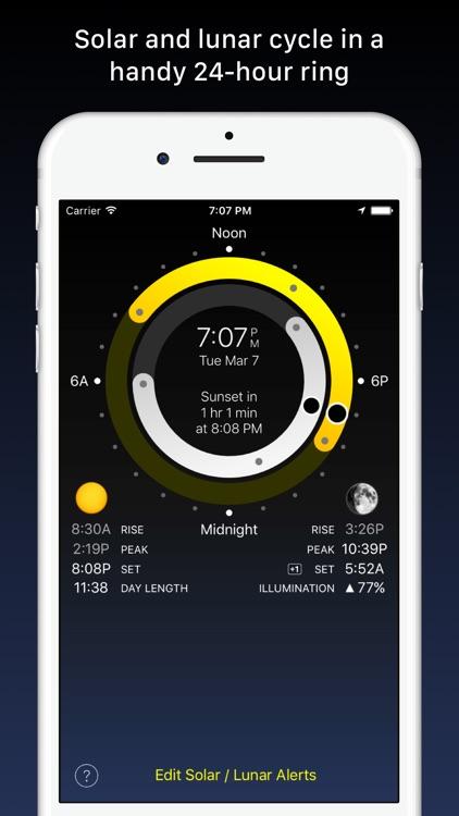 Sundial - Solar & Lunar Times
